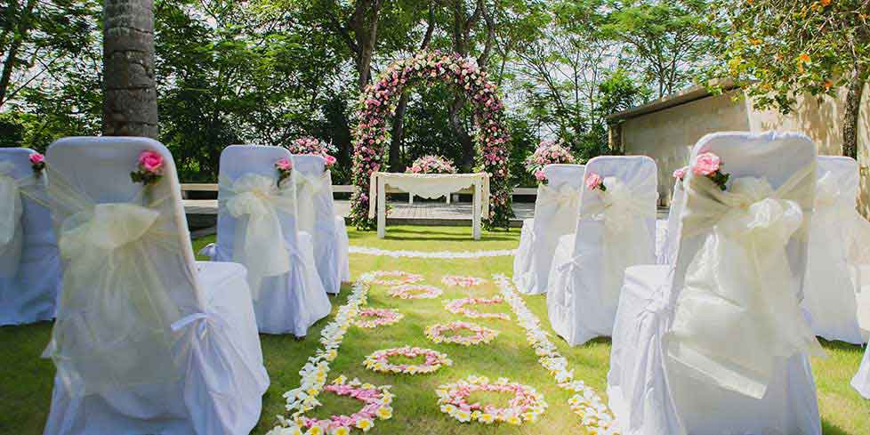 bali weddings decoration at the bale nusa dua