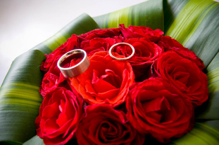 wedding hand bouquet at the bale nusa dua