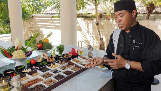 balinese cooking class at the bale nusa dua